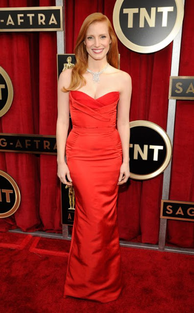 Jessica Chastain SAG awards